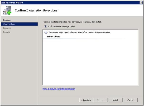 Windows 10: 'telnet' is not recognized as an internal or
